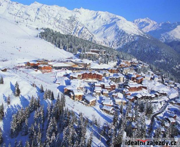 Francie - lyže
