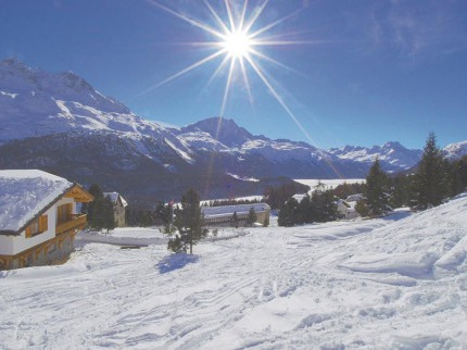 Švýcarsko - lyže