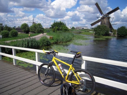 Holandsko - Aktivní dovolená