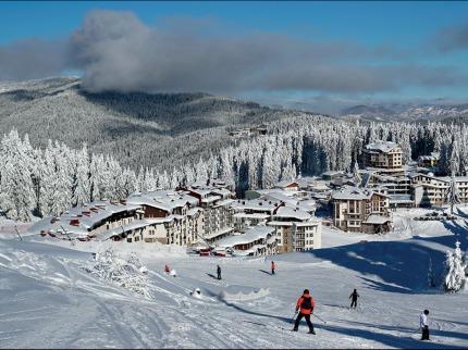 Bulharsko - lyže - Pamporovo
