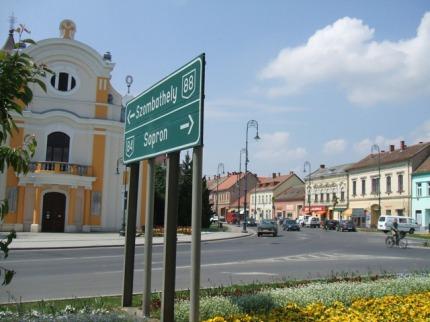 Zádunají - Györ, Zalakaros, Bükfürdo, Sárvár, Sopron, Bük, Lipót, Mosonmagyaróvár, Celldömölk