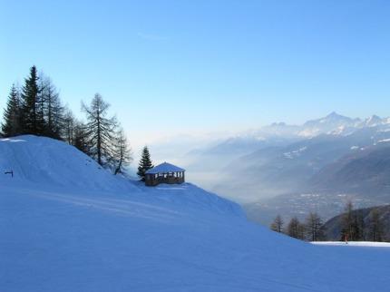 Itálie - lyže - Monte Bondone
