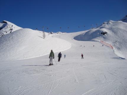 Itálie - lyže - Speikboden / Klausberg