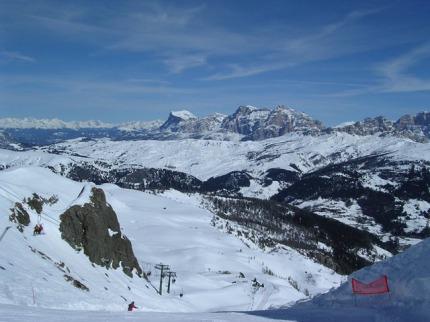 Itálie - lyže - Val Gardena / Alpe Di Siusi