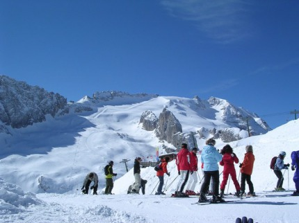 Itálie - lyže - Ortler