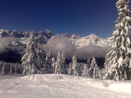 Itálie - lyže - Paganella