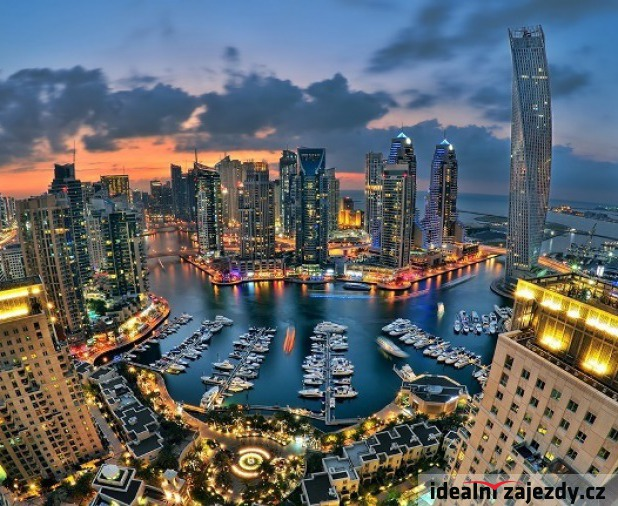 Perly Emirátů s koupáním - Akce Senior 50+