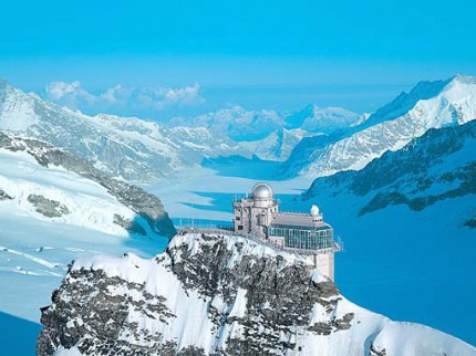 Jungfrau a Eiger