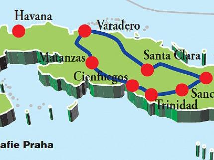 Perly centrální Kuby džípem