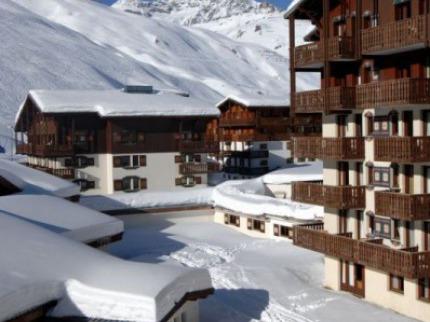 Francie - lyže - Tignes
