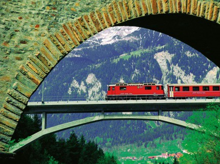 Glaci�r Express - nejpomalej�� rychl�k sv�ta