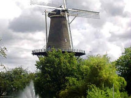Holandsk� mozaika a trhy s�r� v Alkmaaru