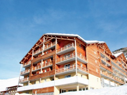 Francie - lyže - Pra Loup / Val d´Allos