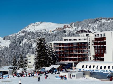 Francie - lyže - Flaine