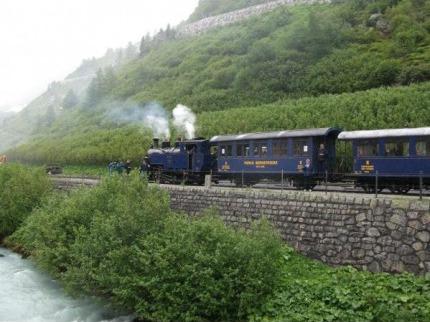 Romantick� �v�carsko z oken horsk�ch vlak�