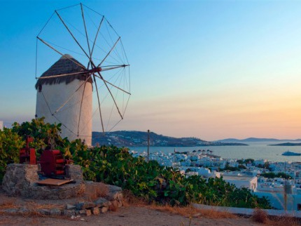 Kykladské ostrovy Paros a Santorini s výlety na Mykonos a Délos Kréta