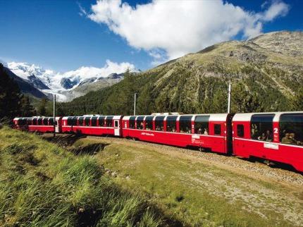 Bernina Express a Svatý Mořic