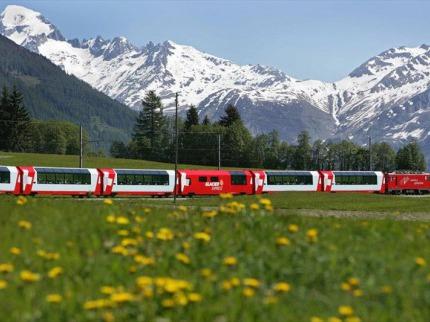 Glacier Express a Matterhorn