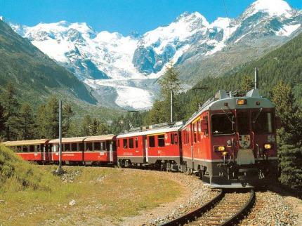 Švýcarsko s výletem horským expresem