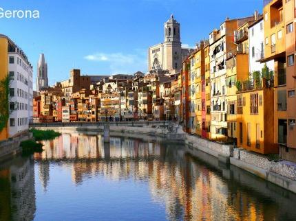 Barcelona, Girona s pobytem u moře