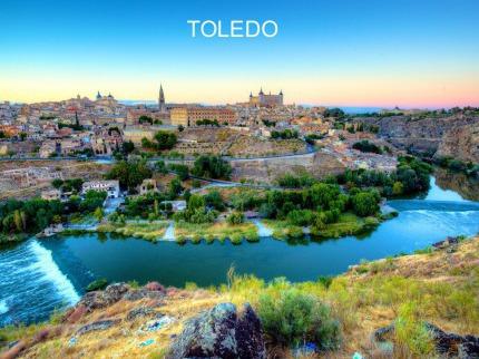 Madrid - Salamanca - Toledo