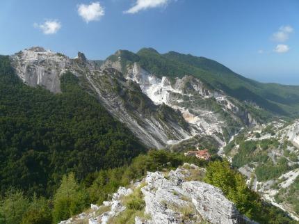 Turistické Toskánsko - Apeniny, Apuánské Alpy, Cinque Terre