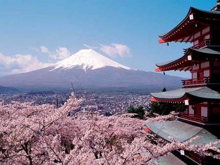 Okruh středním Japonskem