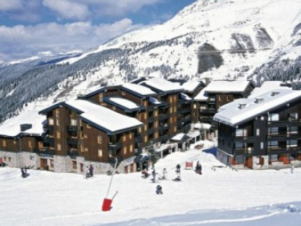 Francie - lyže - Méribel / Mottaret